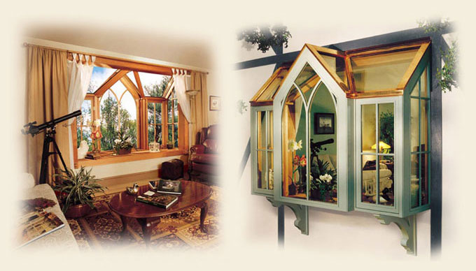 Glass Roofed Bay Windows By Renaissance Conervatories
