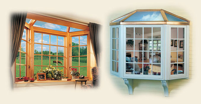 Glass Roofed Bay Garden Window By Renaissance Conservatories