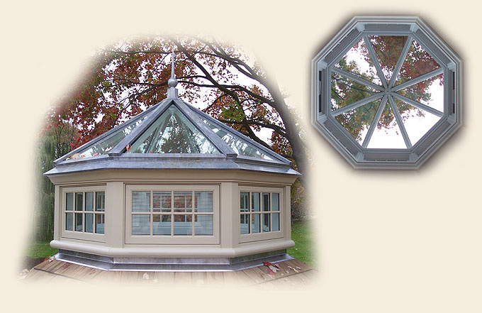 Octagonal Roof Lantern By Renaissance Conservatories