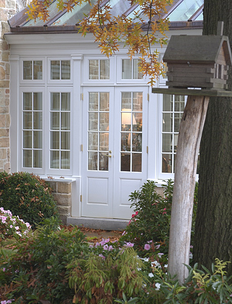 Conservatory Door & Conservatory French Doors With Colonial Divided Lites