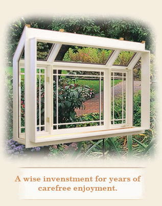 Garden Window | Manufactured Advanced Building Products, Inc