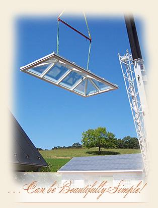 Hipped Skylight Manufacturer Renaissance Conservatories